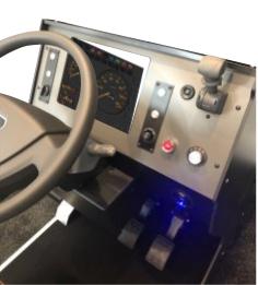 LKW/Bus-Simulator Cockpit